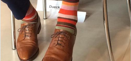 Socke und Schuh